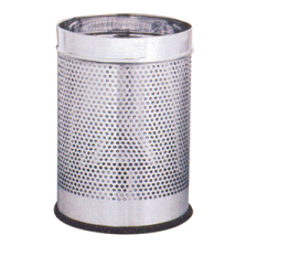 Perforated Dustbin S.S